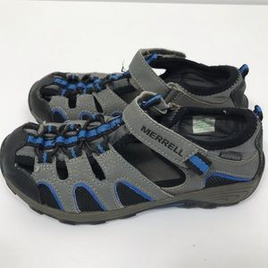Merrell Boys H2O Hiker Sandals Sz 5